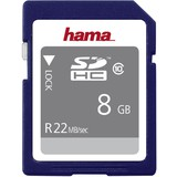 hama speicherkarte SecureDigital high Capacity Gold, 8 GB
