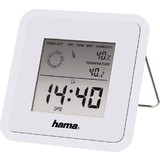 "hama Thermo-/Hygrometer ""TH50"", weiß"