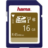 hama speicherkarte SecureDigital high Capacity, 16 GB