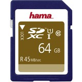 hama speicherkarte SecureDigital high Capacity, 64 GB