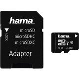 hama speicherkarte Micro securedigital XC, 16 GB