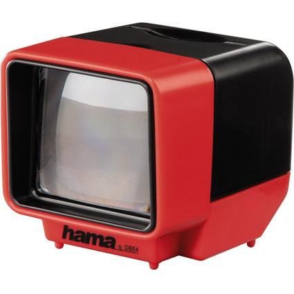 """hama Dia-Betrachter """"DB 54"""", 3 x Vergrößerung, rot"""