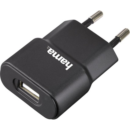 hama universelles USB-Ladegerät, für USB-Geräte, schwarz