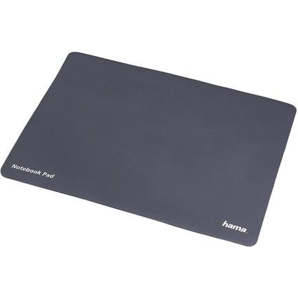 hama Reinigungs-/Schutztuch & Notebook-Pad 3in1, anthrazit