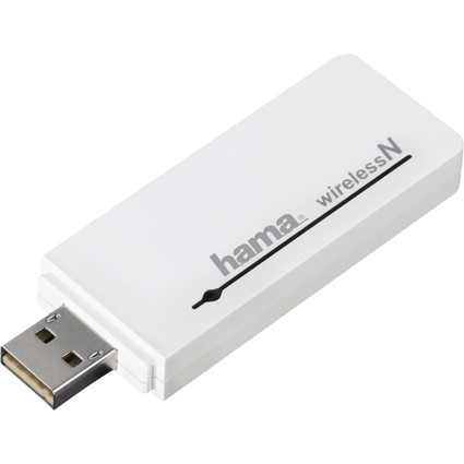 hama Wireless LAN USB 2.0 Adapter, 300 MBit/Sek., Dual Band