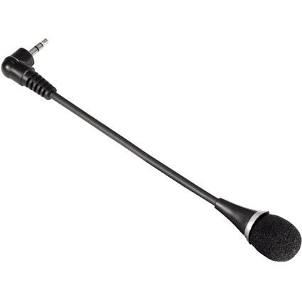 hama Notebook VoIP Mikrofon, schwarz