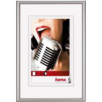 "hama Bilderrahmen ""Chicago"", 70 x 100 cm, Farbe: silber"