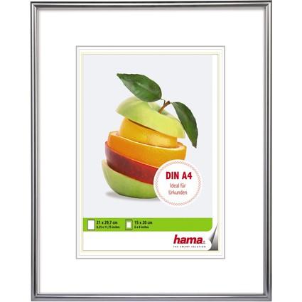 "hama Bilderrahmen ""Sevilla"", 21 x 29,7 cm, silber matt"