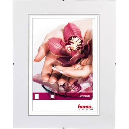 """hama rahmenloser Bilderhalter """"Clip-Fix"""", 29,7 x 42 cm"""