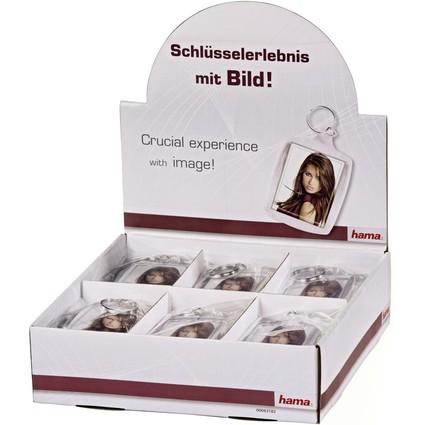 hama Schlüsselanhänger für Minifotos, im Theken-Display