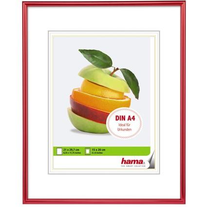 """hama Bilderrahmen """"Sevilla Dekor"""", 21,0 x 29,7 cm, rot"""