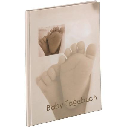 """hama Baby-Tagebuch, Motiv: """"Baby Feel"""", DIN A4"""