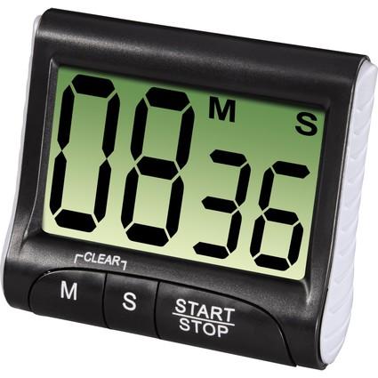 """xavax Kurzzeitwecker """"Countdown"""", digital, schwarz"""