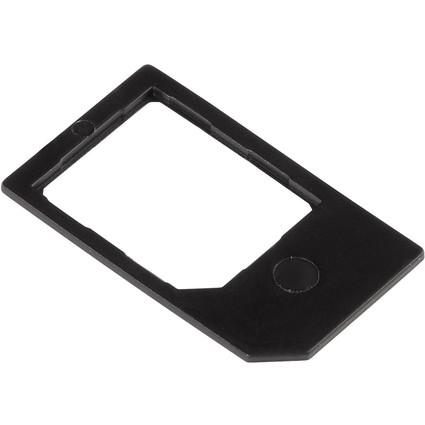 hama Micro-SIM-Adapter, schwarz