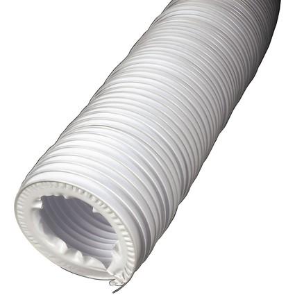 xavax Wäschetrockner-Abluftschlauch, 4,0 m, weiß