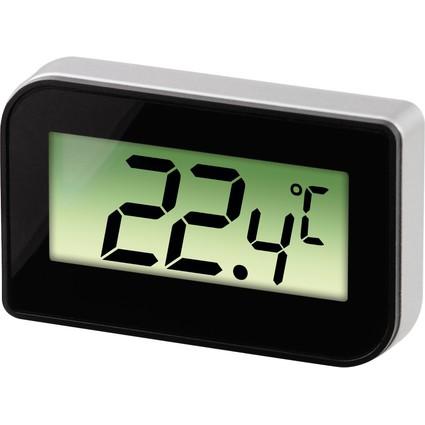 xavax Kühl-/Gefrierschrankthermometer, digital, schwarz /