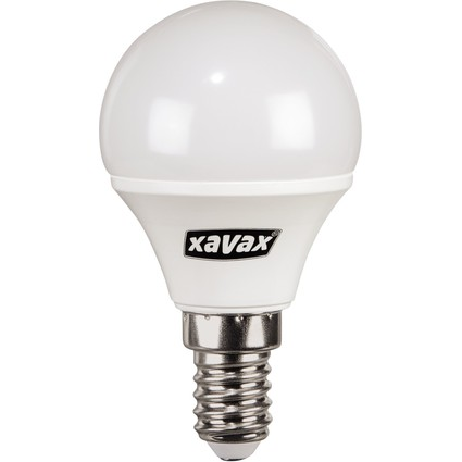 xavax LED-Lampe, Tropfen-Form, 3 Watt, E14