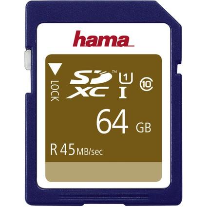 hama Speicherkarte SecureDigital High Capacity, 64 GB