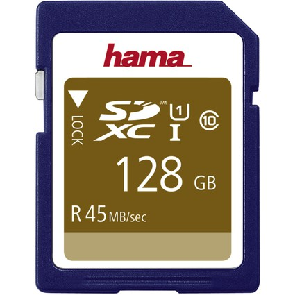 hama Speicherkarte SecureDigital High Capacity, 128 GB