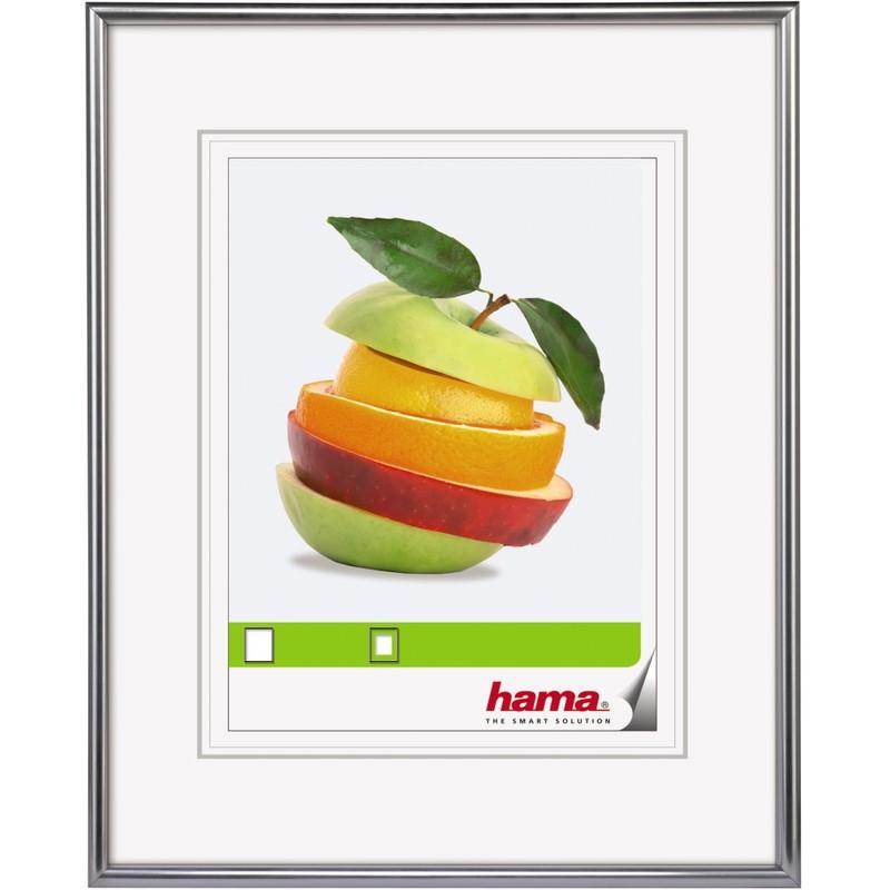 hama bilderrahmen sevilla dekor 20 x 30 cm silber matt 66431 bei g nstig kaufen. Black Bedroom Furniture Sets. Home Design Ideas