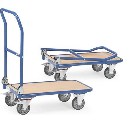 fetra Plattformwagen KW 11, Holzplattform, Tragkraft: 250 kg