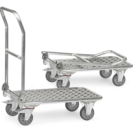 fetra Plattformwagen KW 12, Aluplattform, Tragkraft: 200 kg