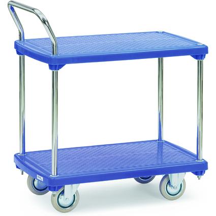 fetra Etagenwagen, 2 Etagen, Kunststoffplattform