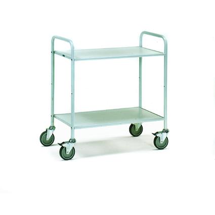 fetra Bürowagen, (B)900 x (T)535 mm, ohne Seitenwand, 1 Fach