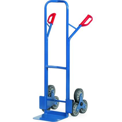 fetra Stahlrohr-Treppenkarre TK1325, 2 dreiarmige Radsterne