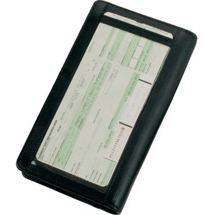 Alassio Reise-Organizer RFID Document Safe, aus Nappaleder