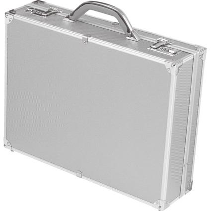"ALUMAXX Attaché-Koffer ""OCTAN"", Aluminium, silber"