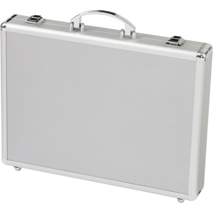 "ALUMAXX Attaché-koffer ""MINOR"", Aluminum, silber"