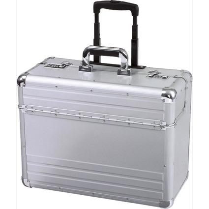 "ALUMAXX Pilotenkoffer ""OMEGA"", Aluminium, silber"