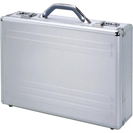 "ALUMAXX Laptop-Attaché-Koffer ""KRONOS"", Aluminium, silber"