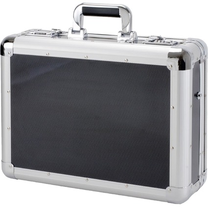 "ALUMAXX Laptop-Attaché-Koffer ""CARBON"", Aluminium"