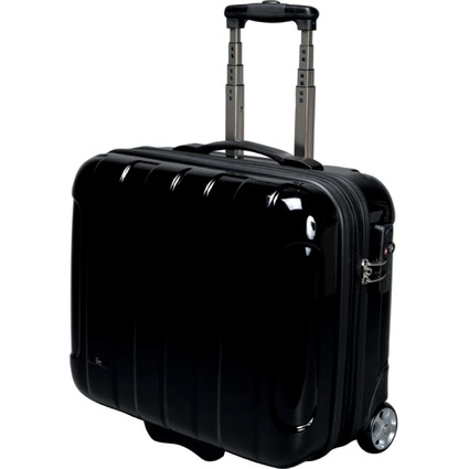 JSA Reisetrolley Business Trolley Overnight, schwarz