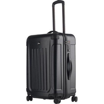"JSA Reisetrolley ""Black Line"", M, schwarz-matt"