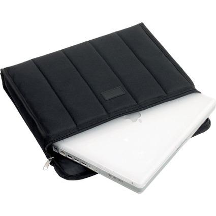 "LiGHTPAK Notebook-Tasche ""CASSINO"", Polyester, schwarz"