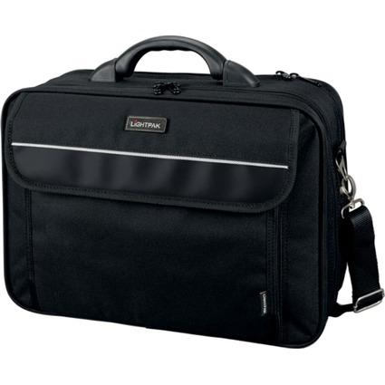 """LiGHTPAK Notebook-Tasche """"ARCO"""", Polyester, schwarz"""