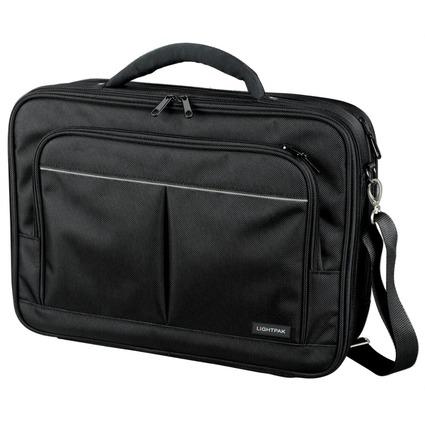 "LiGHTPAK Notebook-Tasche ""LIMA"", Polyester, schwarz"