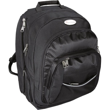 "LiGHTPAK Notebook-Business-Rucksack ""ADVANTAGE"", schwarz"