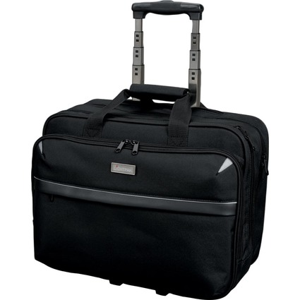 "LiGHTPAK Business Notebook-Trolley ""XRAY"", Nylon, schwarz"