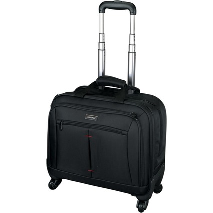 "LiGHTPAK Business Notebook-Trolley ""STAR"", Nylon, schwarz"