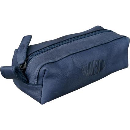 PRIDE&SOUL Schlamper-Rolle, aus Leder, blau
