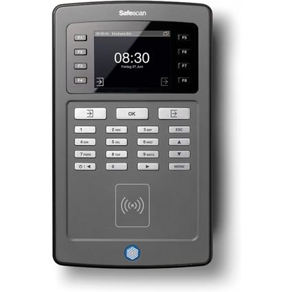 Safescan Zeiterfassungsgerät TA-8010, RFID-Sensor, schwarz