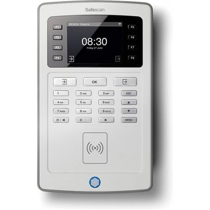 Safescan Zeiterfassungsgerät TA-8015, RFID-Sensor, grau