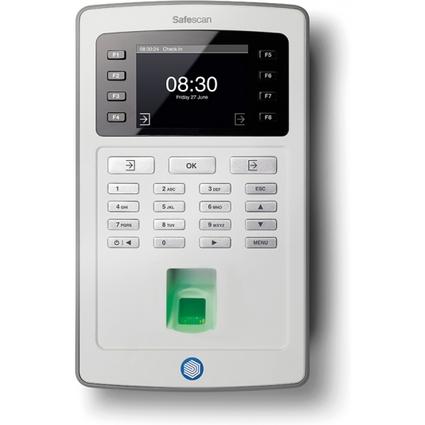 Safescan Zeiterfassungsgerät TA-8025, Fingerabdrucksensor