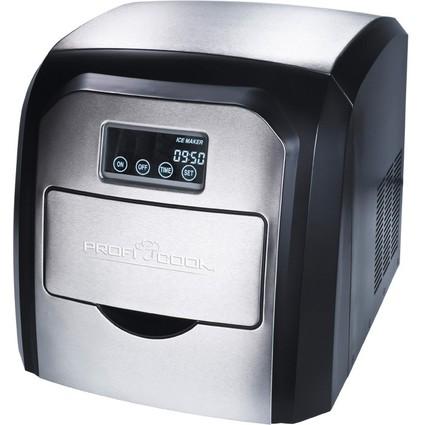 PROFI COOK Eiswürfelbereiter PC-EWB 1007, edelstahl/schwarz