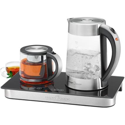 PROFI COOK Tee-/Kaffeestation PC-TKS 1056, silber