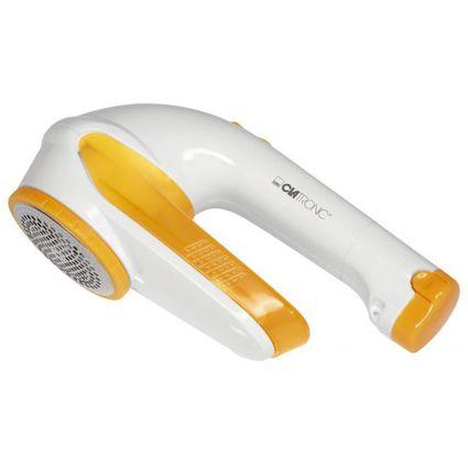 CLATRONIC Fussel-Rasierer Textil-Cleaner MC 3241, weiss/gelb